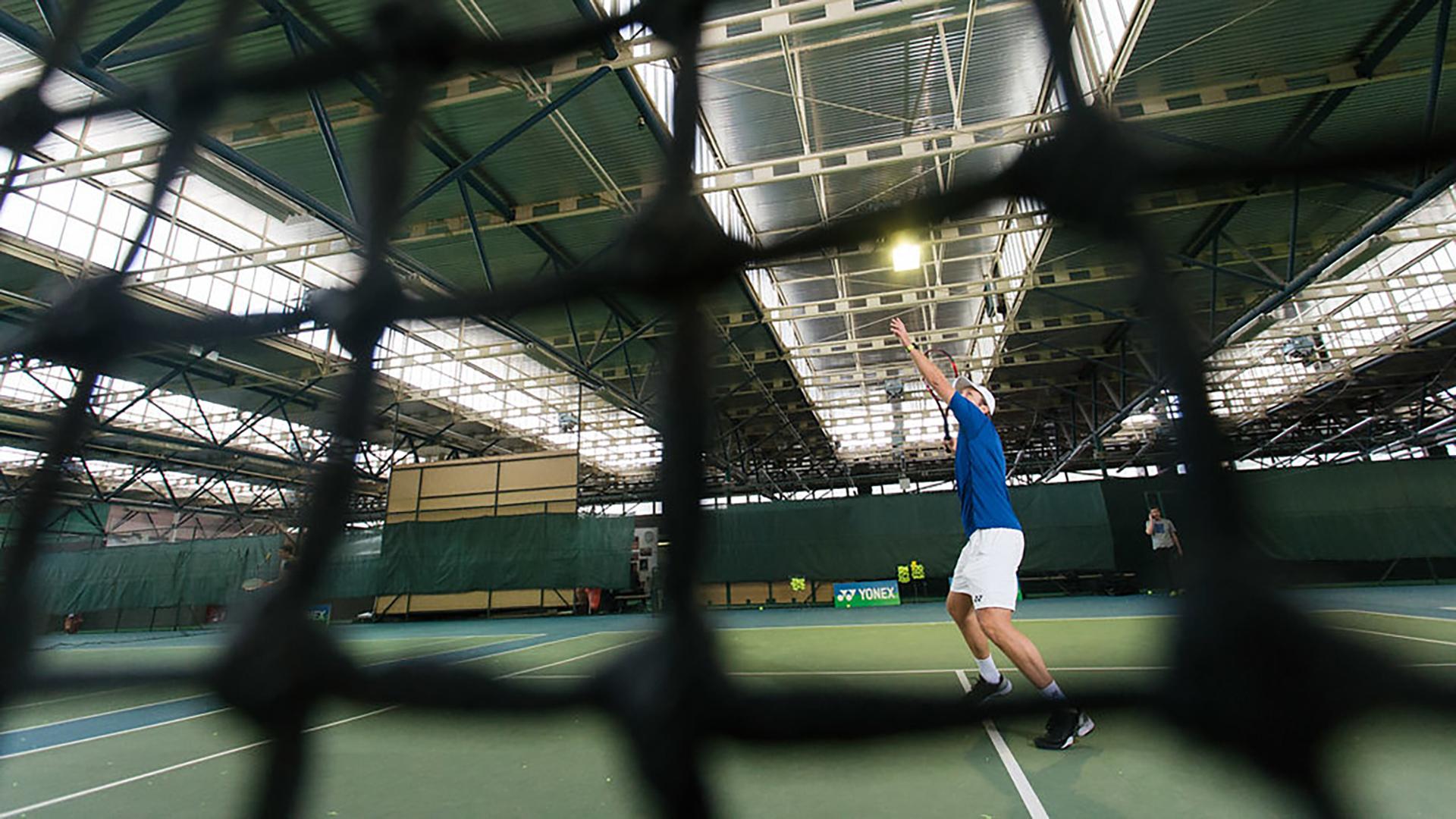 "Tennis Coach Nick Horvat Missing An ""Easy Shot"" Coaching Career Philosophy YONEX Photo by Vuri Matija"