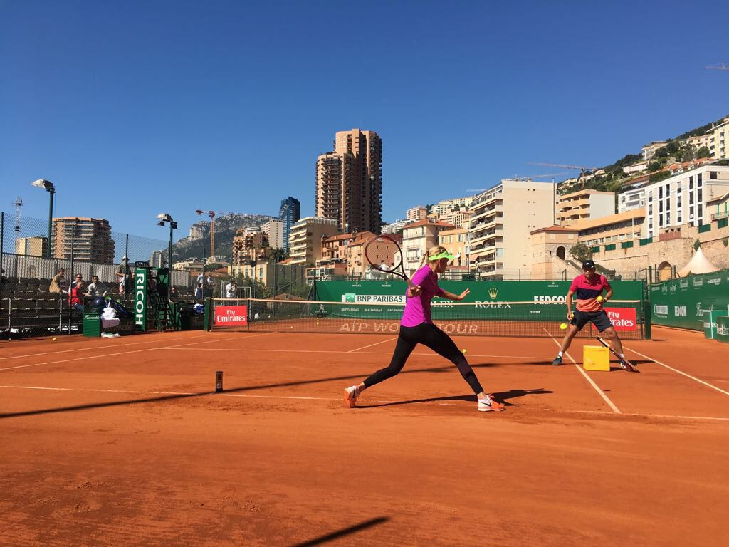 Nick Horvat Donna Vekic Clay Court Season - Preparations In Monte Carlo, Monaco
