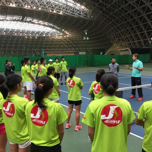 YONEX Vamos J training camp in Japan