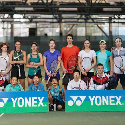 Tennis Coach Nick Horvat at YONEX Vamos J Training Camp In Zagreb, Croatia Photo by Vuri Matija